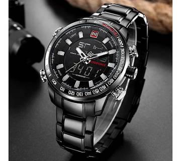 NAVIFORCE Luxury Brand 9093 Dual Display Digital LED Sports Watch