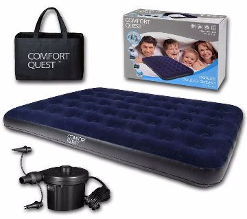 INTEX Inflatable Double Air Bed With Free Pumpers
