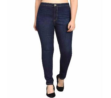 super spandex narrow jeans for women