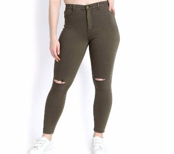 KOTTY Womens High Rise Skinny Jeans