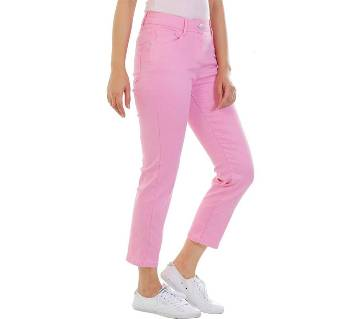 Ladies Cropped jeans with super spandex trendy style