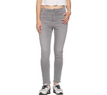 Ladies super spandex long jeans