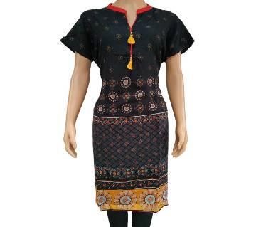 Indian Linen Kurti - EM-1062