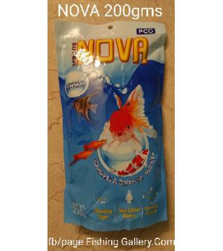 NOVA Fish Food-200gm-Thailand