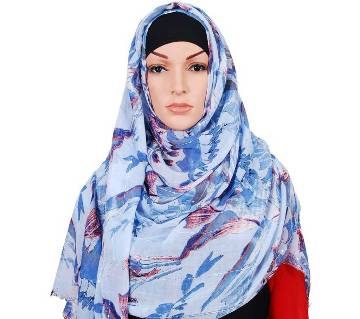 Cotton Printed Hijab for Women