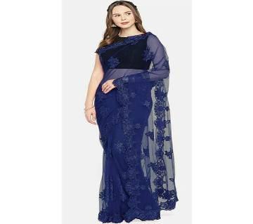 Heavy Banglori Silk Embroidery Saree