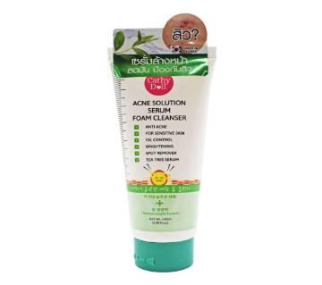 Cathy Doll acne solution serum foam cleanser - KOREA(100 ml)