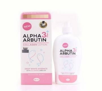 Alpha arbutin 3 plus collagen serum Lotion-500ml-Thailand