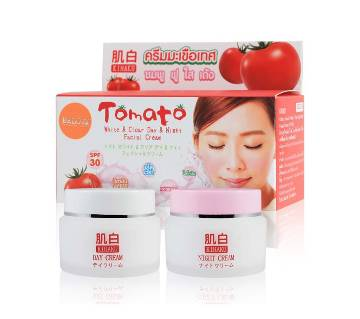 Tomato White & Clear Day & Night Facial Cream-15gm-Thailand