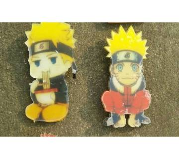 Naruto brooch 2psc