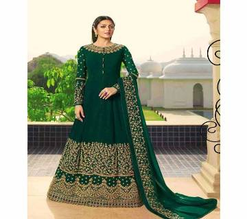 Unstitched Indian Weightless Soft Georgette Long Frock
