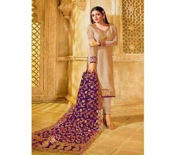 Unstitched Indian Weightless Soft Georgette Salwar Kameez Three Piece