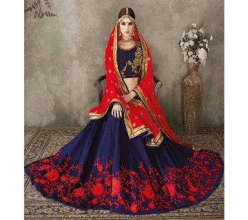 Indian Weightless Soft Georgette Embroidery long lehenga