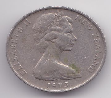 COIN  NEW ZEALAND 1973 10 CENTS