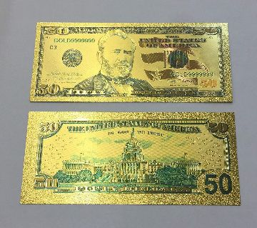 Gold Bank Note
