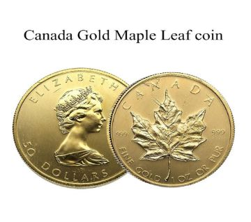 DuangDuang Canada Gold Maple Leaf Coins Commemoration