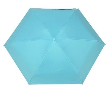 Mini Pocket Capsule Umbrella Waterproof UV Rain Umbrella-Blue