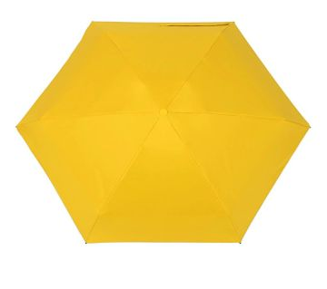 Mini Pocket Capsule Umbrella Waterproof UV Rain Umbrella-Yellow