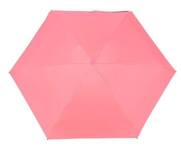 Mini Pocket Capsule Umbrella Waterproof UV Rain Umbrella-Pink