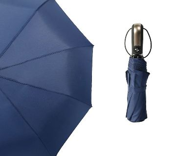 Auto Open Close Windproof Umbrella-Blue