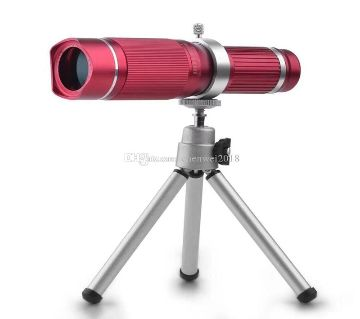 20X Zoom Mobile Phone Telescope Lens Telephoto External Smartphone Camera Lens