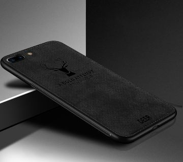 Deer Pattern Protector Back Cover for iPhone 7/8 -Black