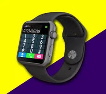 A1 SIM Supported Smart Watch with GPS - Black Smart Watch Mobile Watch Gear SIM Support