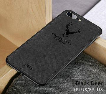 Deer Phone Cover iPhone 6/6s - Black