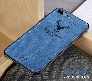 Deer Cloth Phone Cases For iphone 7 PLUS/ 8 PLUS- BLUE