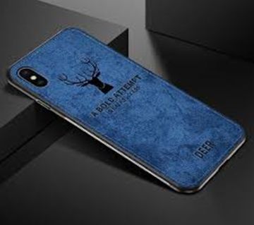 Deer Cloth Phone Cases For iphone X- BLUE