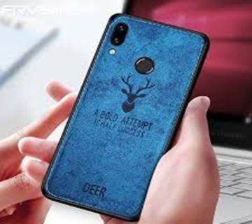 Deer Cloth Case For Redmi  Note 7 - blue