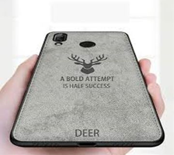 Deer Cloth Case For Redmi  Note 7pro - grey