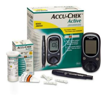 accu chek active gluoco meter