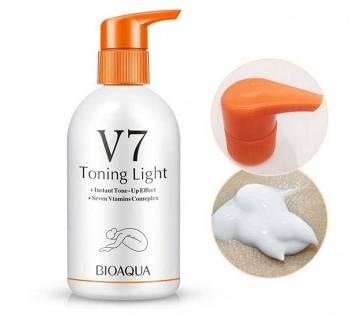 V7 Toning Light Moisturizing Body Lotion-250ml-Korea