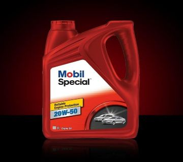 Mobil Special - 20W-50 Engine Oil - 4 Liter