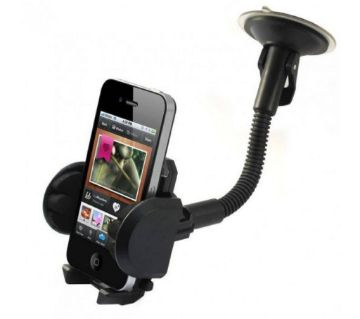Racer Car Mount Holder - Black