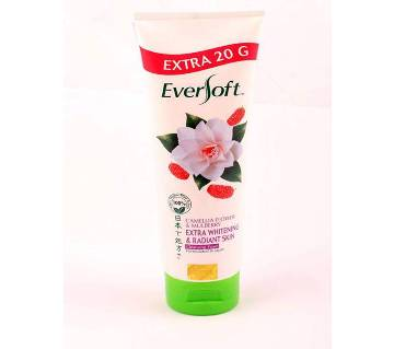 EVERSOFT CAMELLIA CLSR FOAM 120GM (EXTRA WHITENING & RADIANT SKIN) - Malayasia