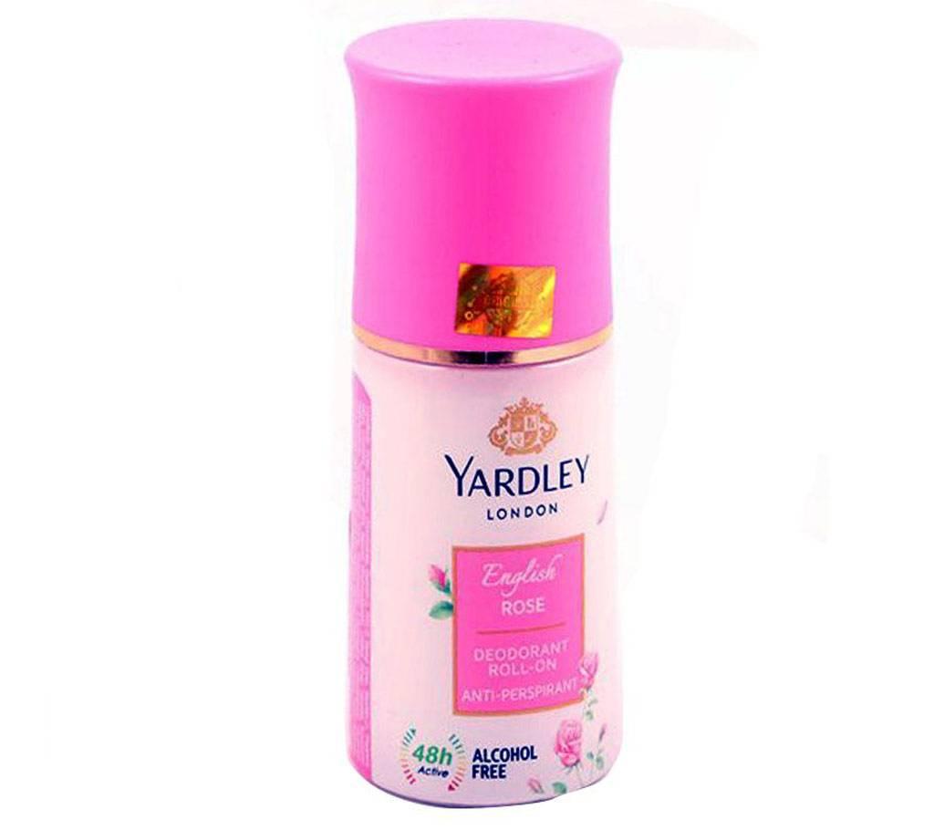 YARDLEY - রোল-অন - ENGLISH ROSE - 50ml (Vietnam) বাংলাদেশ - 999169