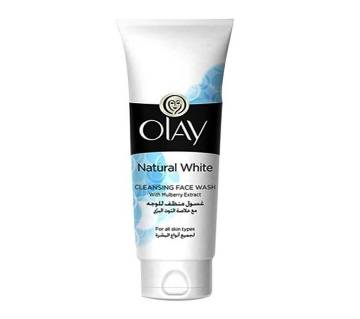 Olay Natural White Cleansing Face Wash - 100 ml