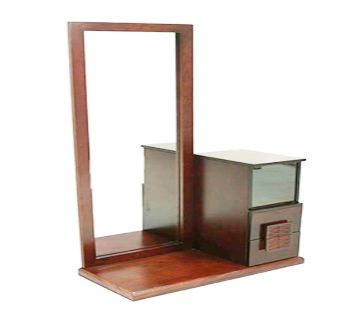 Malaysian Dressing Table DSV-04-Standard -Brown  Dressing Table Good looking furniture Perfect design & standard color and long lasting (DREAM NCHEERS