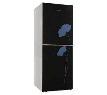 Vision GD Refrigerator RE-222 L Black Flower-2-TM - Code 827705