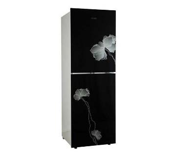 Vision GD Refrigerator RE-262 L Black Flower-1-TM [Code: 827717]