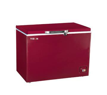Vision Chest Freezer VIS - 250 L Red [Code: 827603]