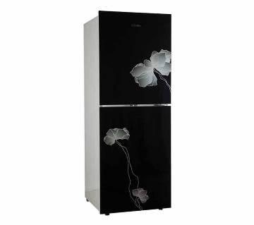 Vision GD Refrigerator RE-252 L Black Flower-1-TM [Code: 827716]