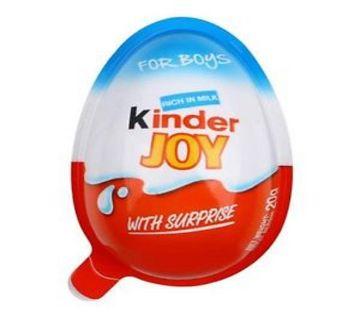 Kinder Joy Chocolate, India- 8 Pcs ( Boys ) India