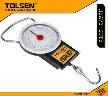 TOLSEN Portable Travel Lugguage Scale with Measuring Tape (22kg / 50LB) 35072