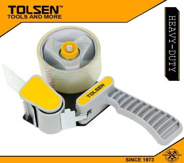 TOLSEN Heavy Duty Hand Held Tape Dispenser with Free 1pc Tolsen Roll Tape 50000