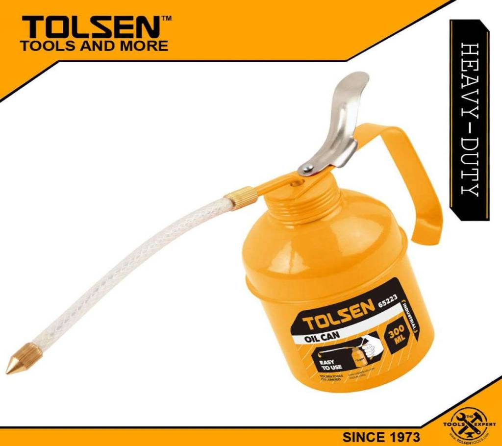 TOLSEN Oil Can (300ml) আয়রন রোবাস্ট পাম্প with Zinc Plated 65223 বাংলাদেশ - 1023264