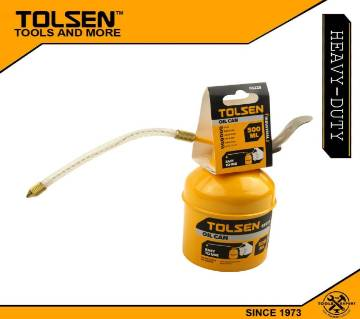 TOLSEN Oil Can (500ml) Iron Robust pump with Zinc Plated 65225