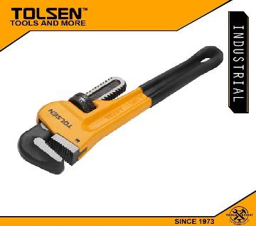 "TOLSEN Pipe Wrench (8"" or 200mm)Industrial Series 10067"